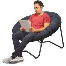 mainstays folding papasan chair navy walmart com