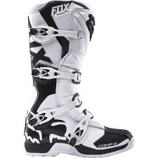 fox motocross socks fox racing 2016 comp 5 boots white available at motocross giant