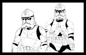 Clone Trooper Coloring Pages 533488 Wars Clone Coloring Pages