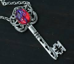 opal jewelry necklace images Dragon breath key necklace mexican fire opal jpg