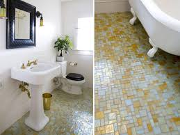 bathroom glass tile ideas the pros and cons of mosaic glass tile flooring carrara marble