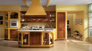 kitchen designs with yellow walls in