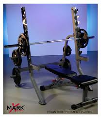 Squat Rack And Bench Press Combo Xmark Xm 7619 Commercial Squat Rack Review