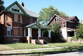 vacant abandoned houses are dwindling in most places but not in