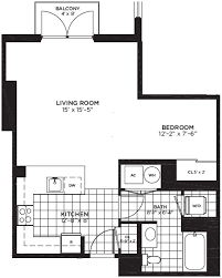 a floor plan yale west apartments luxury dc apartments floor plans
