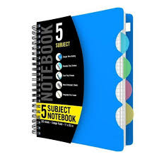 classmate notepad five subject spiral notebook at rs 80 spiral notebooks