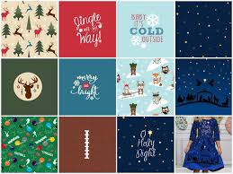 christmas pattern knit fabric christmas football knit fabric pre orders peek a boo pages