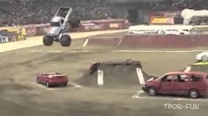 monster truck racing youtube amazing best of monster truck fails crash and backflips to 2013