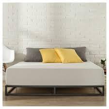 Metal Bed Frames Target 6 Platforma Metal Bed Frame Black Zinus Target