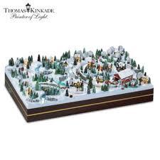 kinkade winter miniature