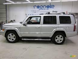 dark grey jeep 2010 jeep commander limited 4x4 in bright silver metallic 118589