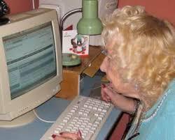 Grandma Computer Meme - in defense of all caps meme genie s bottle