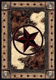 Western Style Area Rugs Ranger Hideout Area Rug Collection Cabin Place