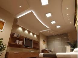 unusual design ideas of bedroom recessed lighting with square