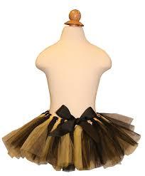 black and gold ribbon tutu black and gold vanderbilt