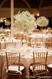 gold wedding decorations indian wedding reception floral decor http maharaniweddings
