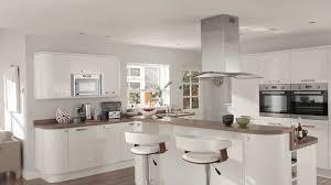 modele cuisine blanc laqué modele cuisine blanc laque stunning cuisine noir et blanc pictures