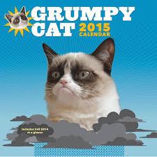 Grumpy Cat Mini Wall Calendar - geeky 2015 calendars popsugar tech