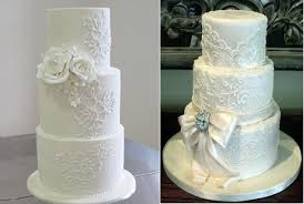 Chandelier Cake Stencil Lace Piping For Wedding Cake Designs Cake Geek Magazine