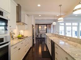 houzz kitchens with islands best amazing white galley kitchens houzz 6926