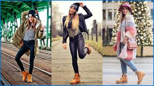 womens boots timberland style how to wear casual with timberland boots