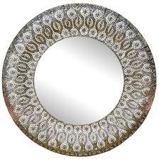 ornamental metal wall mirror wall mirror