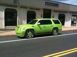 green cadillac escalade cadillac escalade tuning vehicles