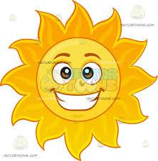 champagne emoticon a happy sun emoji cartoon clipart vector toons