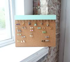 earring stud holder earring studs holder stud earring holder cork earring holder