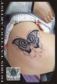 mandala lace butterfly thigh doris aluf