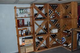 Rangement Pour Cave A Vin Impressionnant Construire Sa A Vin En Bois Avec Casier Bouteilles