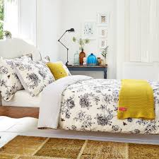 tahari gray and yellow scroll print queen duvet pearlbedding pearl