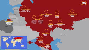 russia football map russia 2018 world cup stadiums venues cities grounds fixtures