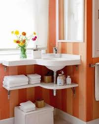 bathroom sinks ideas corner bathroom sinks creating space saving modern design wish small