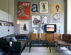 5 tips for decorating around a television gallery wall