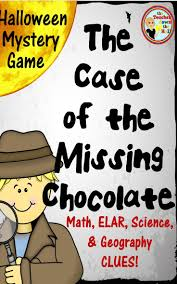 halloween mystery game includes elar math science and