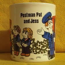Postman Pat Duvet Vintage Retro 1982 Postman Pat And Jess Mug Kiln Craft