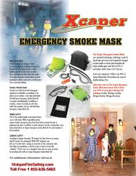 Fire Evacuation Plan For Care Homes by Smoke Masks Emergency Egress Canada Unique Fire U0026 Safety Canada