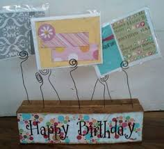 Birthday Card Holder 80th Birthday Card