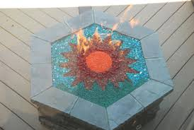 gas pit glass how to build a gas or propane outdoor pit using
