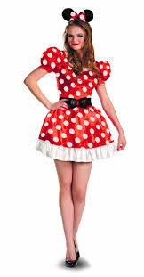 Mickey Minnie Mouse Halloween Costumes Toddlers Amazon Disguise Red Minnie Mouse Classic Womens Costume