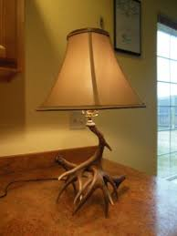 Antler Table Lamp Quality Deer Antler Table Lamps