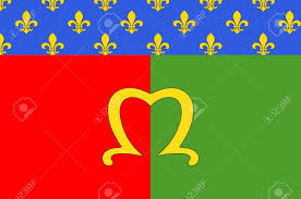 Paris Flag Flag Of Meaux Is A Commune In The Seine Et Marne Department In