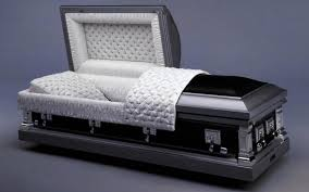black casket coffins caskets and urns f a albin sons