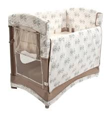 Bassinet To Crib Convertible by Mini Arc Co Sleeper Compact And Comfortable Baby Bassinet