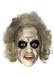 halloween baby face mask beetlejuice costumes halloweencostumes com