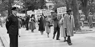 civil rights activists seek justice for racial violence in the