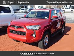toyota 4runner 2017 black new toyota 4runner at toyota of fayetteville serving nwa