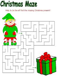 printable christmas worksheets free worksheets library download