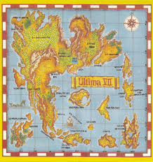 Fallout 2 World Map by Beautiful Video Game World Maps Kotaku Australia